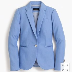 J. Crew Campbell Jacket in Linen size 4